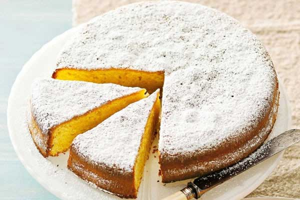 Zeytinyağıyla yapılan Mandalinalı Kek