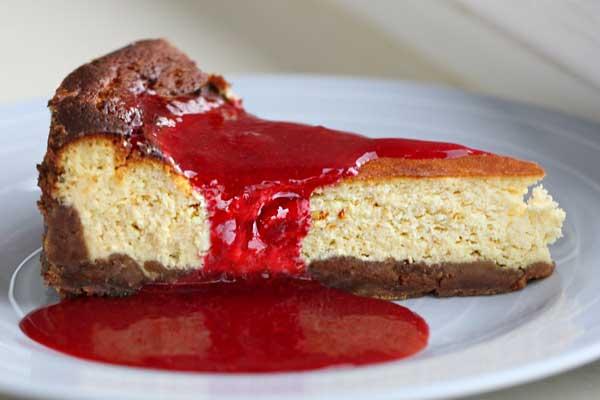 Frambuazlı Mükemmel Cheesecake