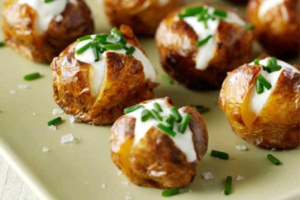 Fırında Cep Patates