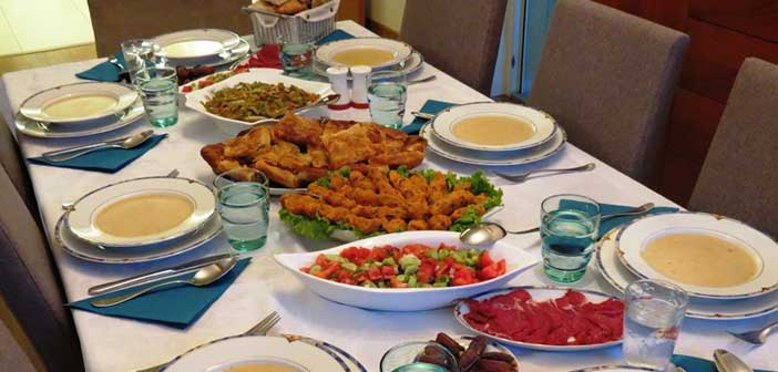 Ramazanda=Beslenme
