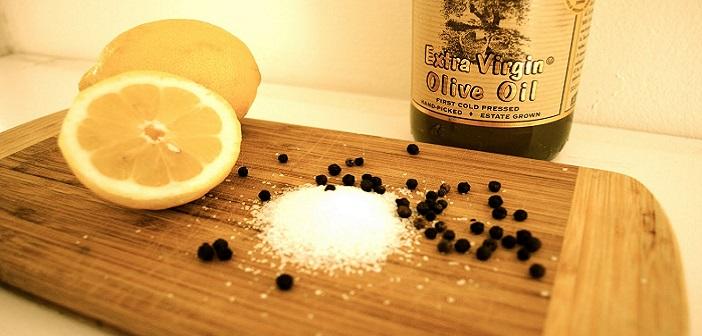 Tuz, Karabiber ve Limon
