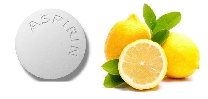 Aspirin ve Limon Suyu Yüz Maskesi